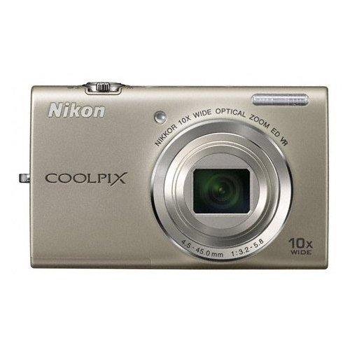 Фото Цифровые фотоаппараты Nikon Coolpix S6200 Silver