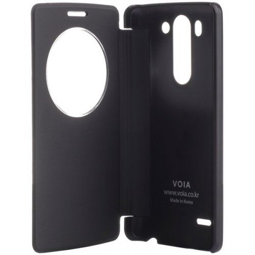 Фото Чехол Чехол VOIA Flip Case + Butterfly для LG G3s Dual D724 Black