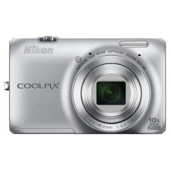 Фото Цифровые фотоаппараты Nikon Coolpix S6300 Silver