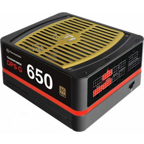 Фото Блок питания Thermaltake Toughpower DPS G 650W (PS-TPG-0650DPCGEU-G)