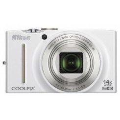 Фото Цифровые фотоаппараты Nikon Coolpix S8200 White