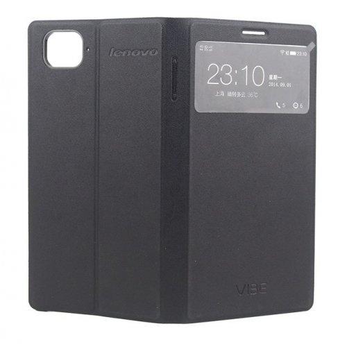 Фото Чехол Чехол Leather Flip Cover для Lenovo Vibe Z2 K920 Black
