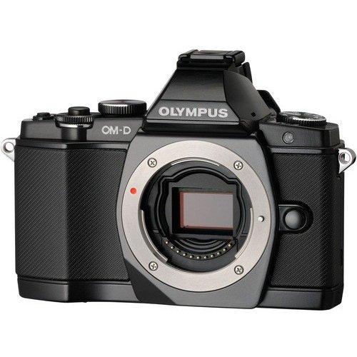 Фото Цифровые фотоаппараты Olympus Pen E-PL1 14-42 Kit Black/Black