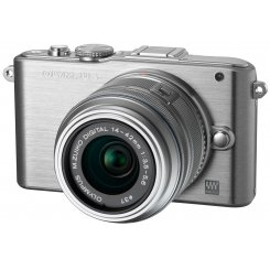 Фото Цифровые фотоаппараты Olympus Pen E-PL3 14-42 Kit Silver/Silver