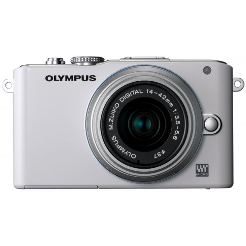 Фото Цифровые фотоаппараты Olympus Pen E-PL3 14-42 Kit White/Silver