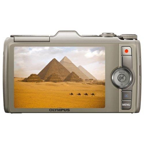 Фото Цифровые фотоаппараты Olympus SH-25MR Gold