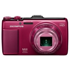 Фото Цифровые фотоаппараты Olympus SH-25MR Red
