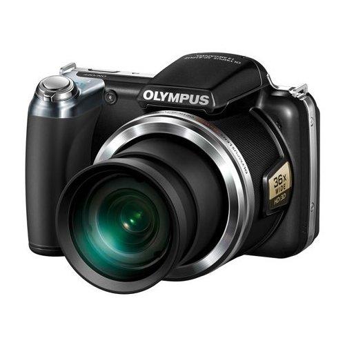 Фото Цифровые фотоаппараты Olympus SP-810UZ Black