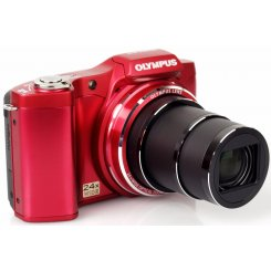 Фото Цифровые фотоаппараты Olympus SZ-14 Red