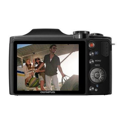 Фото Цифровые фотоаппараты Olympus SZ-30MR Black