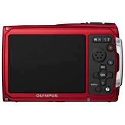 Фото Цифровые фотоаппараты Olympus TG-310 Red