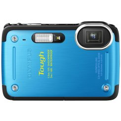 Фото Цифровые фотоаппараты Olympus TG-620 Blue