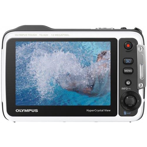 Фото Цифровые фотоаппараты Olympus TG-620 White