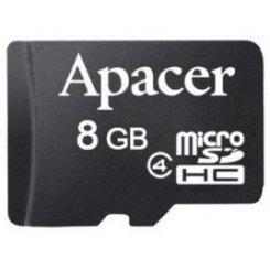 Фото Карта памяти Apacer microSDHC 8GB Class 4 (без адаптера) (AP8GMCSH4-RA)