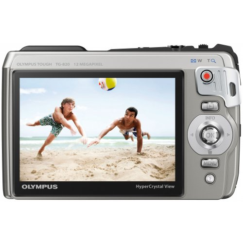 Фото Цифровые фотоаппараты Olympus TG-820 Silver
