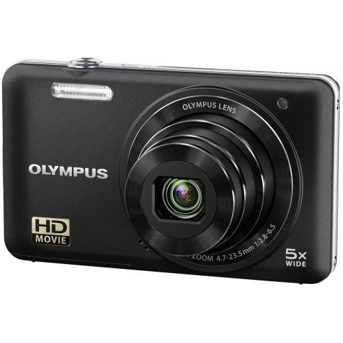 Фото Цифровые фотоаппараты Olympus VG-160 Black