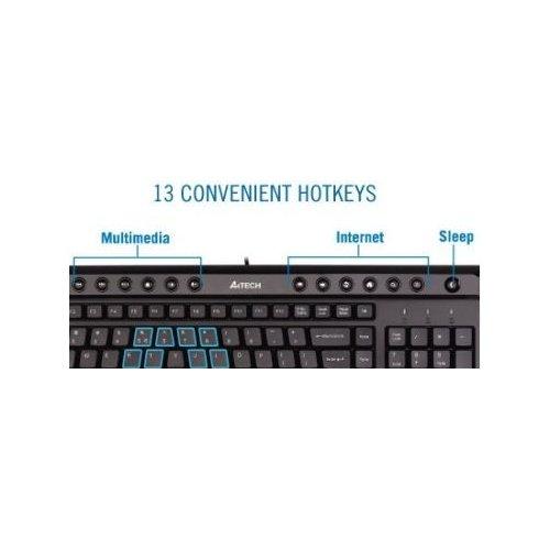 Фото Клавиатура A4Tech KL-40-USB