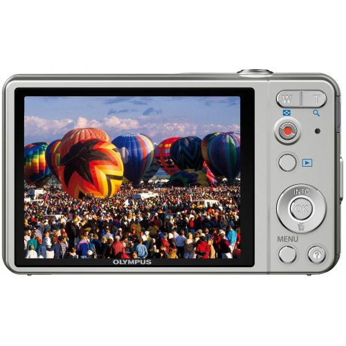 Фото Цифровые фотоаппараты Olympus VG-160 Silver