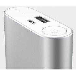 Фото Универсальный аккумулятор Xiaomi Mi Power Bank 10000 mAh Silver