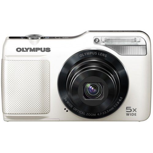 Фото Цифровые фотоаппараты Olympus VG-170 White