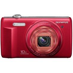 Фото Цифровые фотоаппараты Olympus VR-340 Red