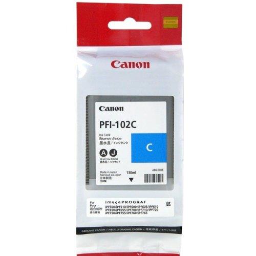 Фото Картридж Canon PFI-102C (0896B001) Cyan