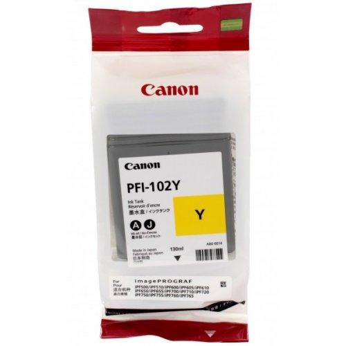 Фото Картридж Canon PFI-102Y (0898B001) Yellow