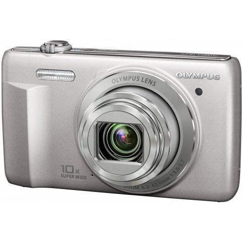 Фото Цифровые фотоаппараты Olympus VR-340 Silver