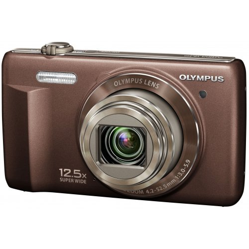 Фото Цифровые фотоаппараты Olympus VR-360 Brown
