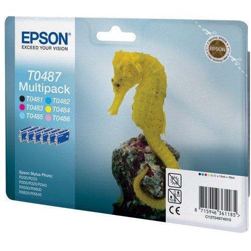 Фото Картридж Epson R300 (C13T04874010) Multipack