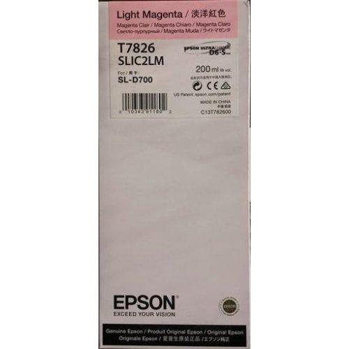Фото Картридж Epson SL-D700 (C13T782600) Light Magenta