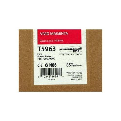 Фото Картридж Epson SP 7900/9900 (C13T596300) Vivid Magenta