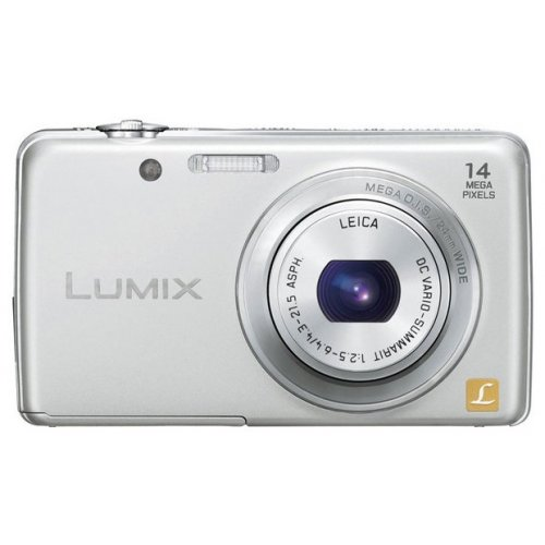 Фото Цифровые фотоаппараты Panasonic Lumix DMC-FS40 Silver
