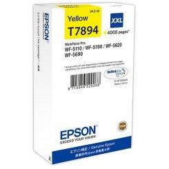 Фото Картридж Epson WF-5xxx Ink Cartr XXL (C13T789440) Yellow