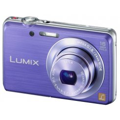 Фото Цифровые фотоаппараты Panasonic Lumix DMC-FS45 Violet