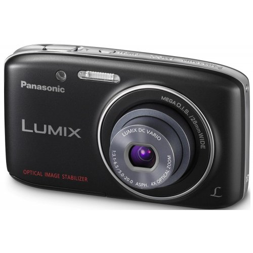 Фото Цифровые фотоаппараты Panasonic Lumix DMC-S2 Black