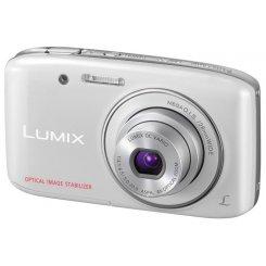 Фото Цифровые фотоаппараты Panasonic Lumix DMC-S2 White