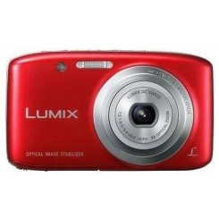 Фото Цифровые фотоаппараты Panasonic Lumix DMC-S5 Red