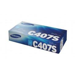 Фото Картридж Samsung CLT-C407S (CLT-C407S/SEE) Cyan