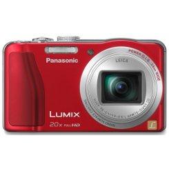 Фото Цифровые фотоаппараты Panasonic Lumix DMC-TZ30 Red