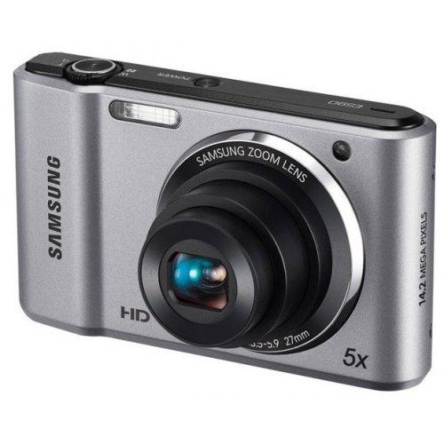 Фото Цифровые фотоаппараты Samsung ES90 Silver