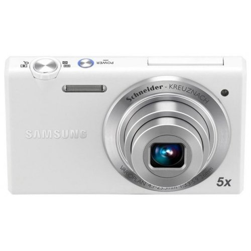 Фото Цифровые фотоаппараты Samsung MV800 White