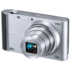 Фото Цифровые фотоаппараты Samsung ST200 Silver