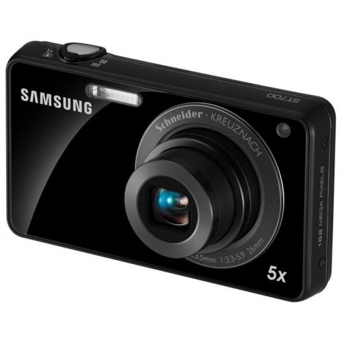 Фото Цифровые фотоаппараты Samsung ST700 Black