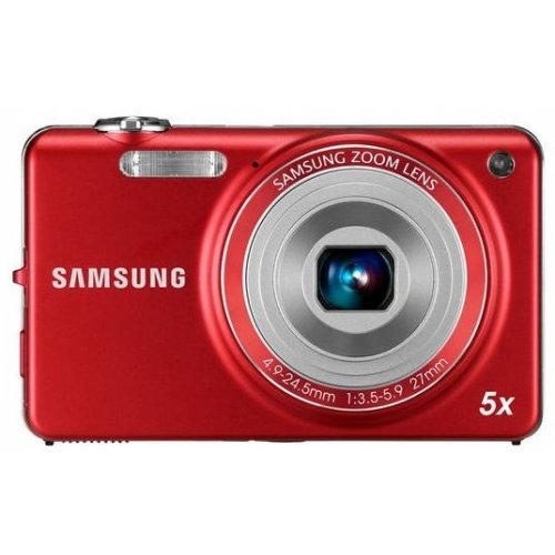 Фото Цифровые фотоаппараты Samsung ST77 Red