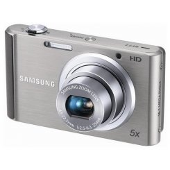 Фото Цифровые фотоаппараты Samsung ST77 Silver