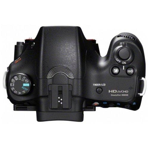 Фото Цифровые фотоаппараты Sony Alpha SLT-A65 18-55mm + 55-200mm Kit