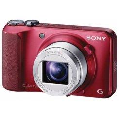 Фото Цифровые фотоаппараты Sony Cyber-shot DSC-H90 Red