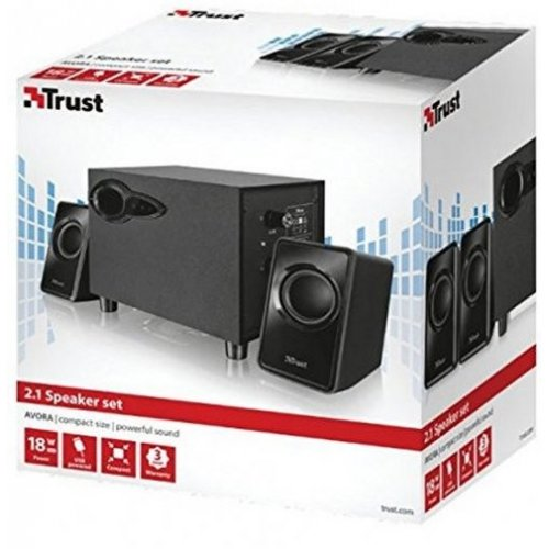 Фото Акустическая система Trust Avora USB (20442) Black