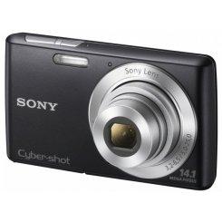 Фото Цифровые фотоаппараты Sony Cyber-shot DSC-W620 Black